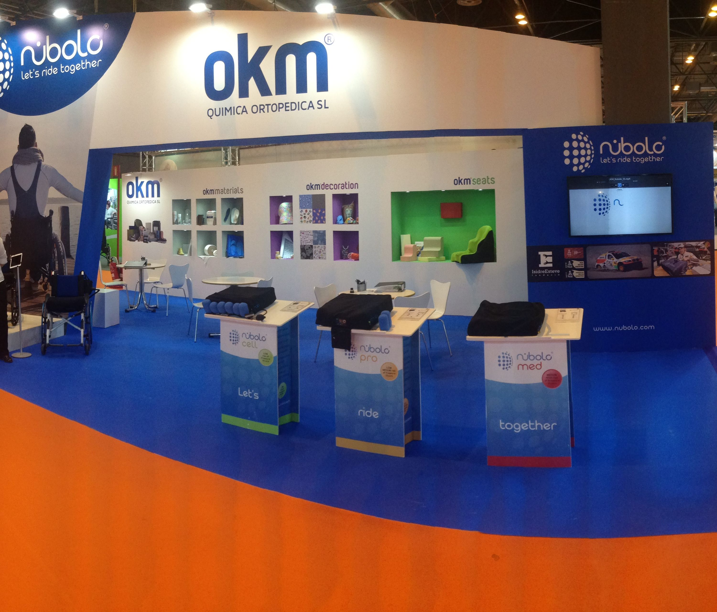 Nubolo, Orto Medical Care 2018 en Madrid